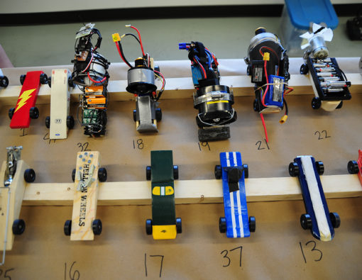 Appareo Pinewood Derby Cars