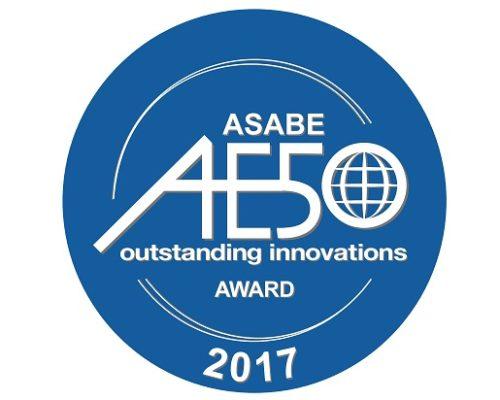 AE50 ASABE Award Logo