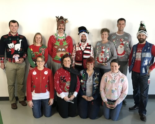 Ugly Sweater Competition at Appareo