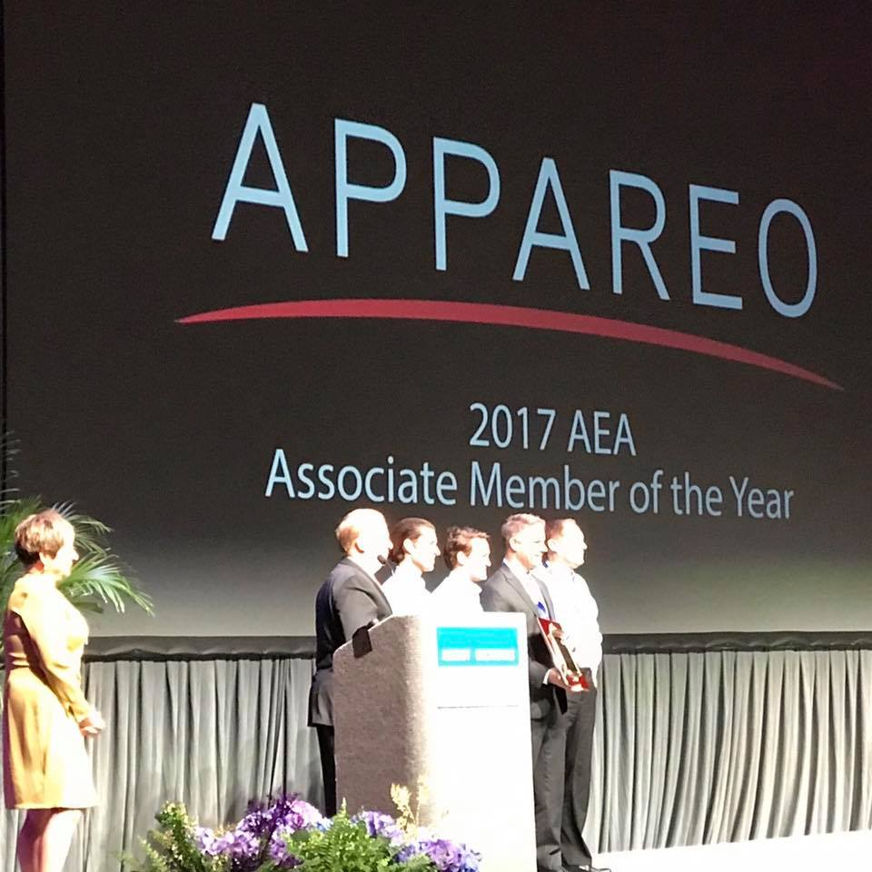 2017 AEA Associate Member of the Year Appareo