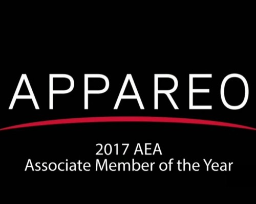 Appareo named AEA Associate Member of the Year