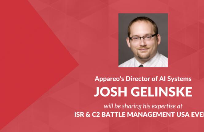 Josh Gelinske to present at ISR & C2 Battle Management USA